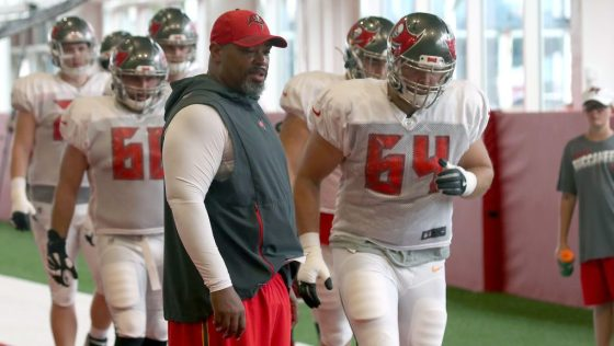 Bucs assistant head coach Harold Goodwin supports Eugene Chung in interview allegation