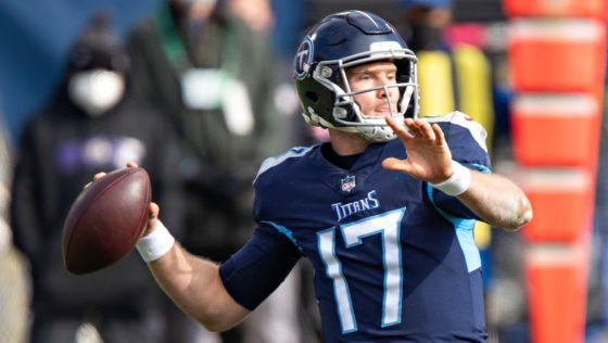Ryan Tannehill says Titans haven't discussed restructuring his contract